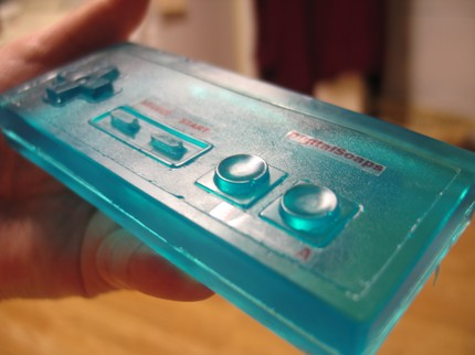 Jabón Nintendo