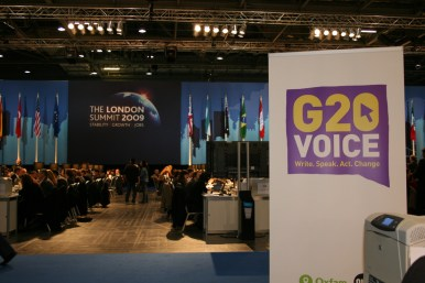 G20voice in the London summit 2009