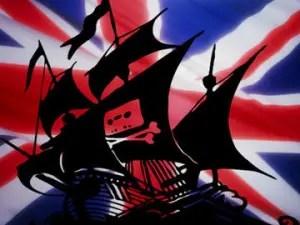 Piratería británica