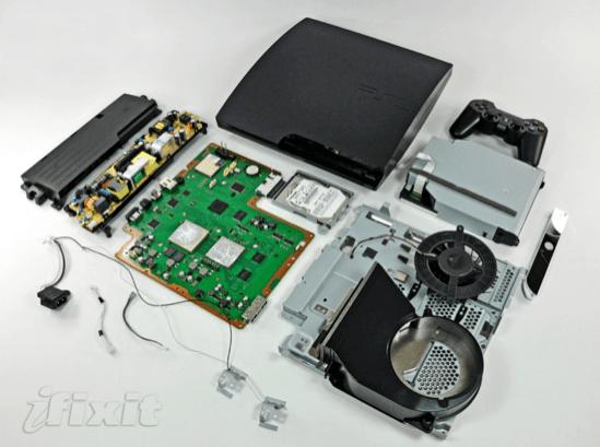 Desmontaje del PS3