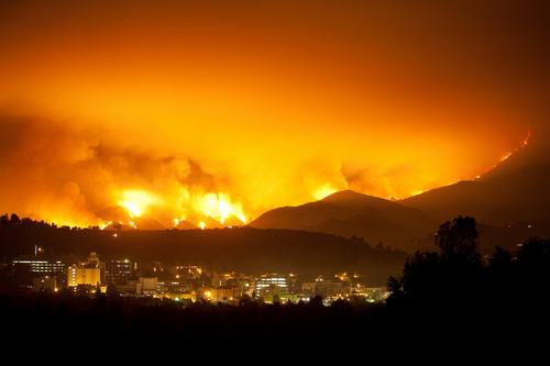 Station Fire Above JPL