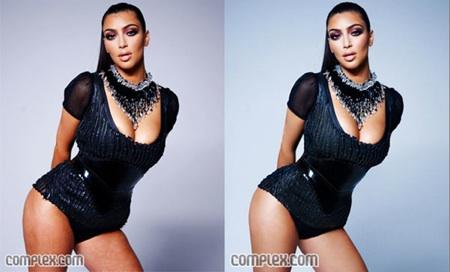 Kim Kardashian Photoshoppeada