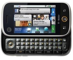 Motorola Cliq #1