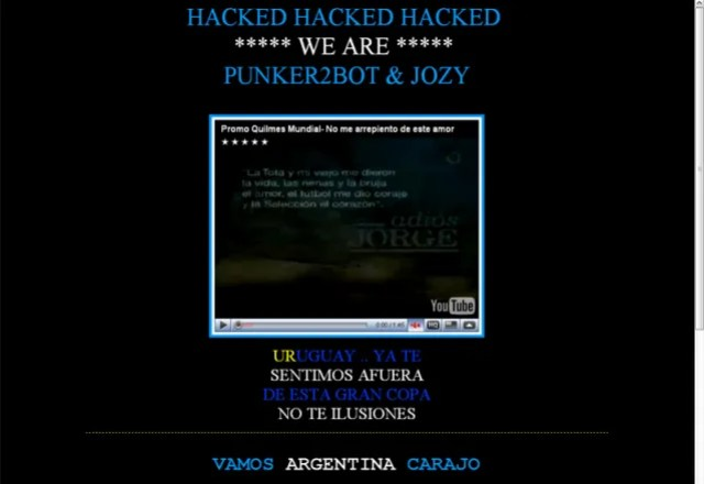 Turismo Hacked