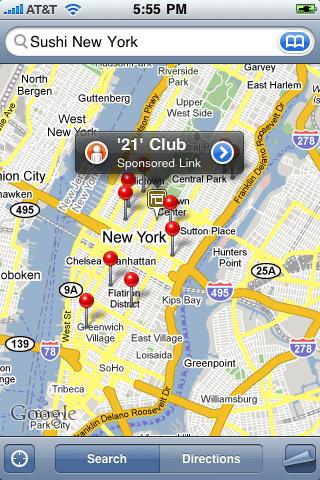 Google Maps / Anuncios