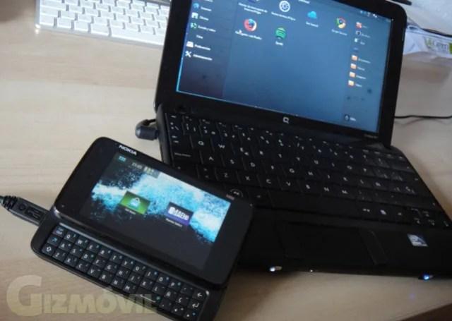 N900 y netbook
