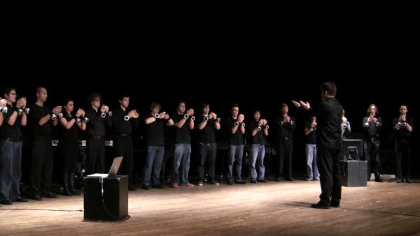 Orquesta de iPhones