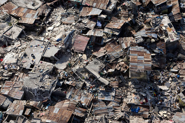 Puerto Príncipe, capital de Haití, devastado por el terremoto