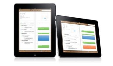 iPad interfaz Calendario