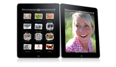 iPad interfaz Photos