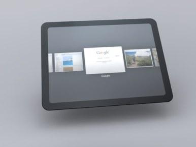 Tablet Chrome OS 4