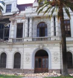 Daños del terremoto en Chile 7 - Vía @YUKiiLLA