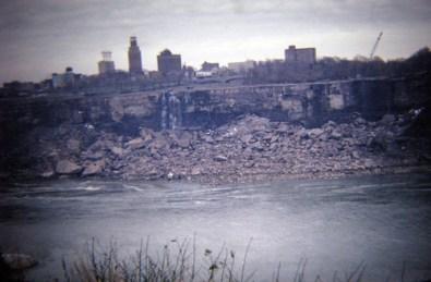 Cataratas del Niágara secas 3