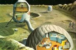 Base Lunar 1969