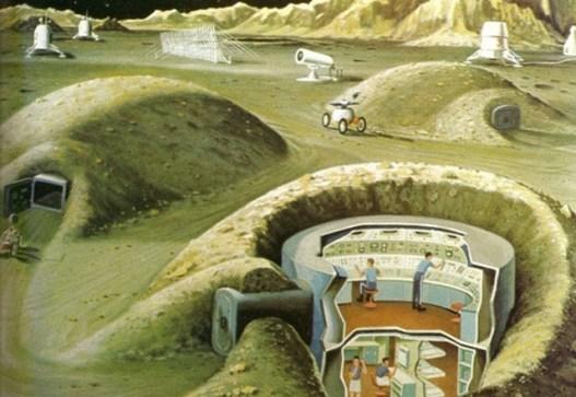 Sistema de Refugios para una supuesta Base Lunar