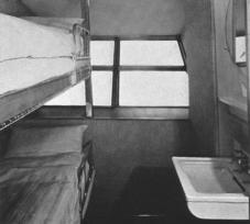 Hindenburg - Camarote de la Tripulación