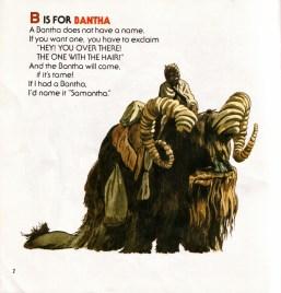 La B de Bantha