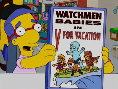 Watchmen Babies in V for vacation