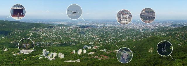 Budapest en 70 Gigapíxeles