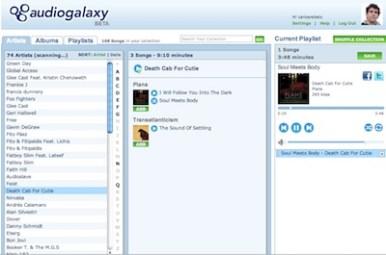 Audiogalaxy Web