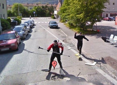 Street View Prank