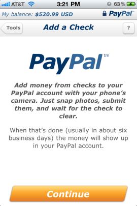 Paypal check