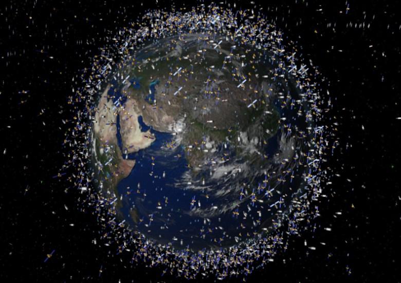 Basura espacial: peligro inminente
