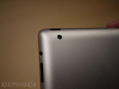 iPad 2 detalle cámara