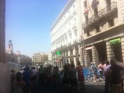 Acceso cerrado en Alcalá