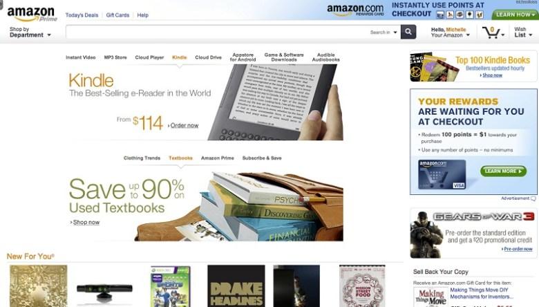 Amazon Tablet mejoras web
