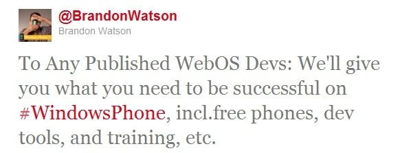 Twitter Brandon Watson