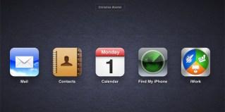 iCloud web iconos