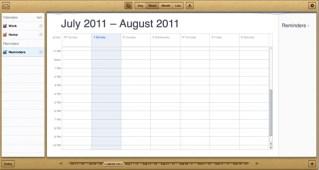 iCloud web Calendar