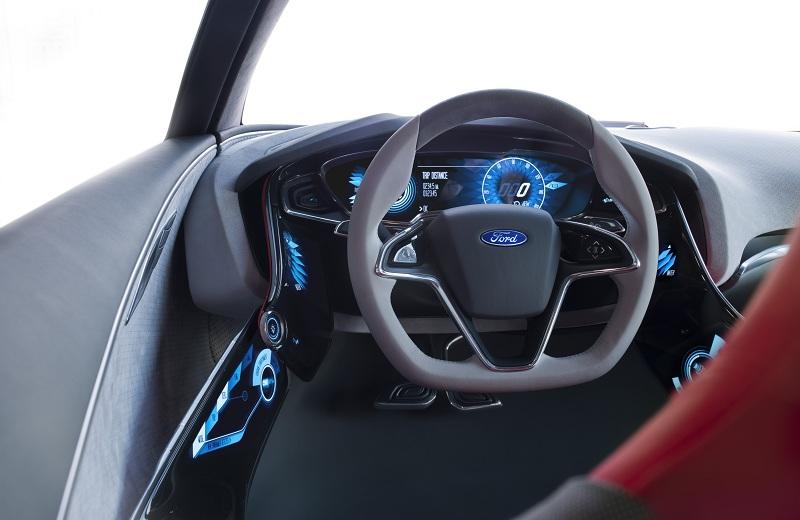 Ford EVOS Concept Interior