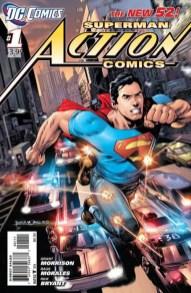 Action Comics 1, Portada