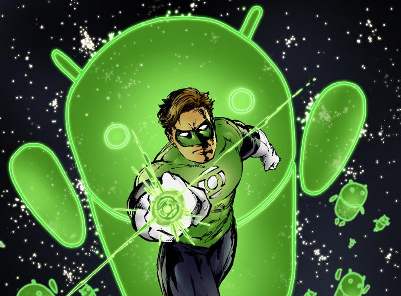 Green Lantern on Android