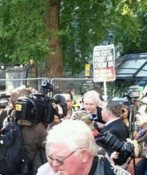 Assange Londres 2