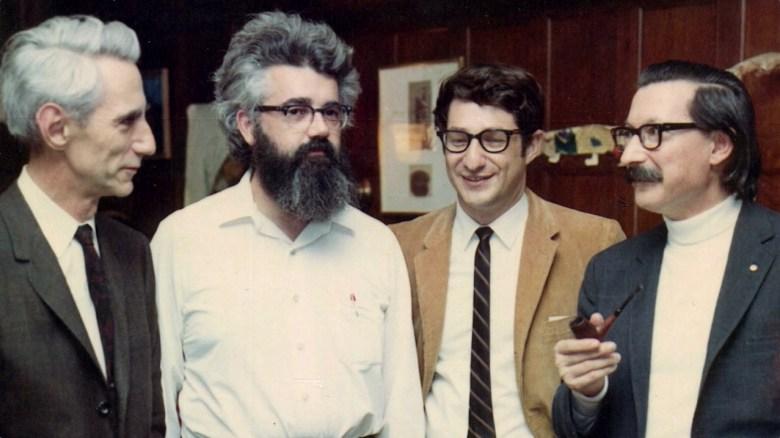 """Mccarthy con Shannon, Ed Fredkin y Joseph Weizenbaum"""" title=""""Mccarthy con Shannon, Ed Fredkin y Joseph Weizenbaum"""