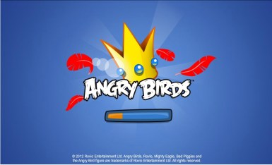 Angry Birds Facebook Loading Screen