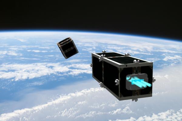 Satelite Basura Espacial