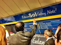 Estación de Sol Galaxy Note