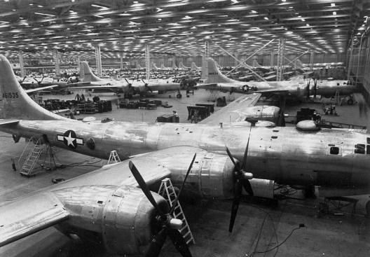 Boeing Plant 2 (3) - Bombardero B-29