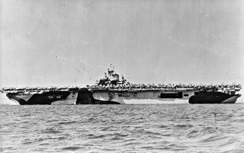 USS Essex en 1944