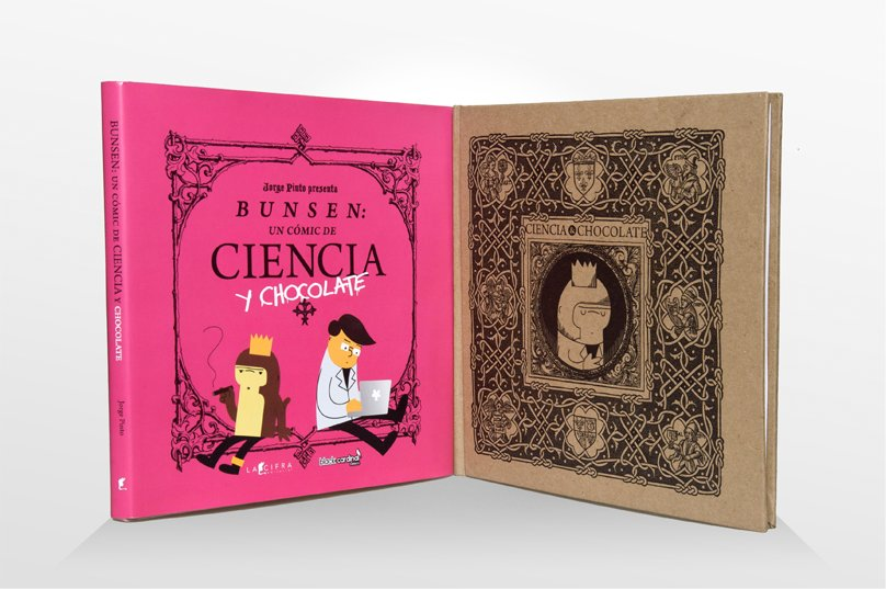 Bunsen, un cómic de Ciencia y Chocolate