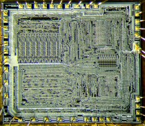 Intel 8080 layout