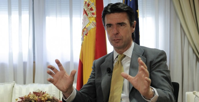 Jose manuel soria Ministro de Industria - Peaje de respaldo