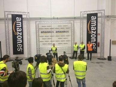 Centro Logístico de Amazon en España