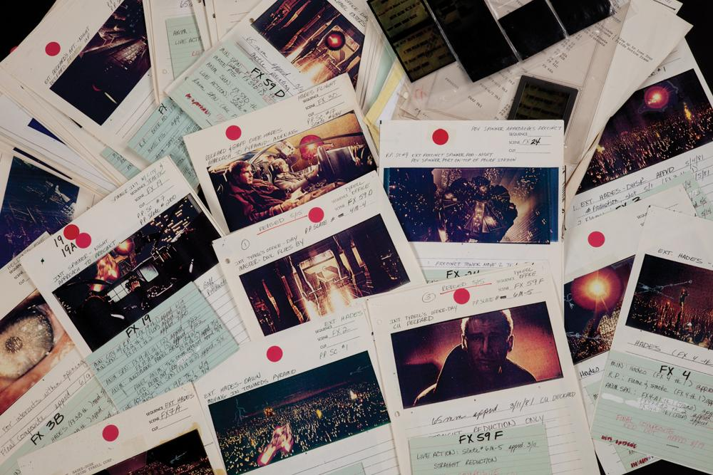 Blade Runner Storyboards