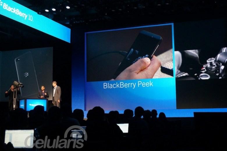 Presentación de BlackBerry 10