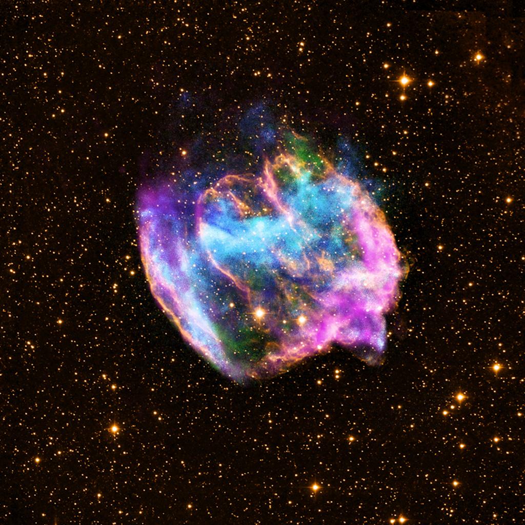 Formacion agujero negro NASA